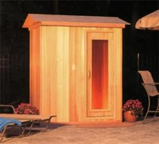 Outdoor Sauna 4'x4' DreamLine BLOD44